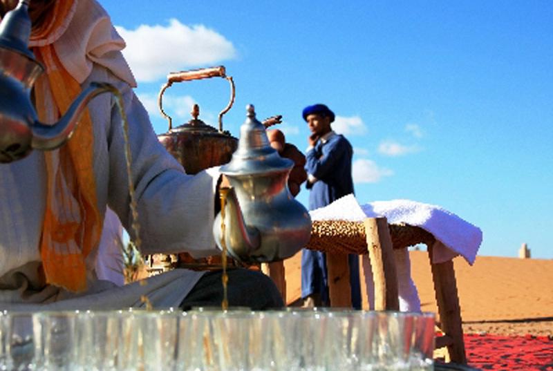 RIAD SIWAN GUEST HOUSE MARRAKECH MOROCCAN TEA