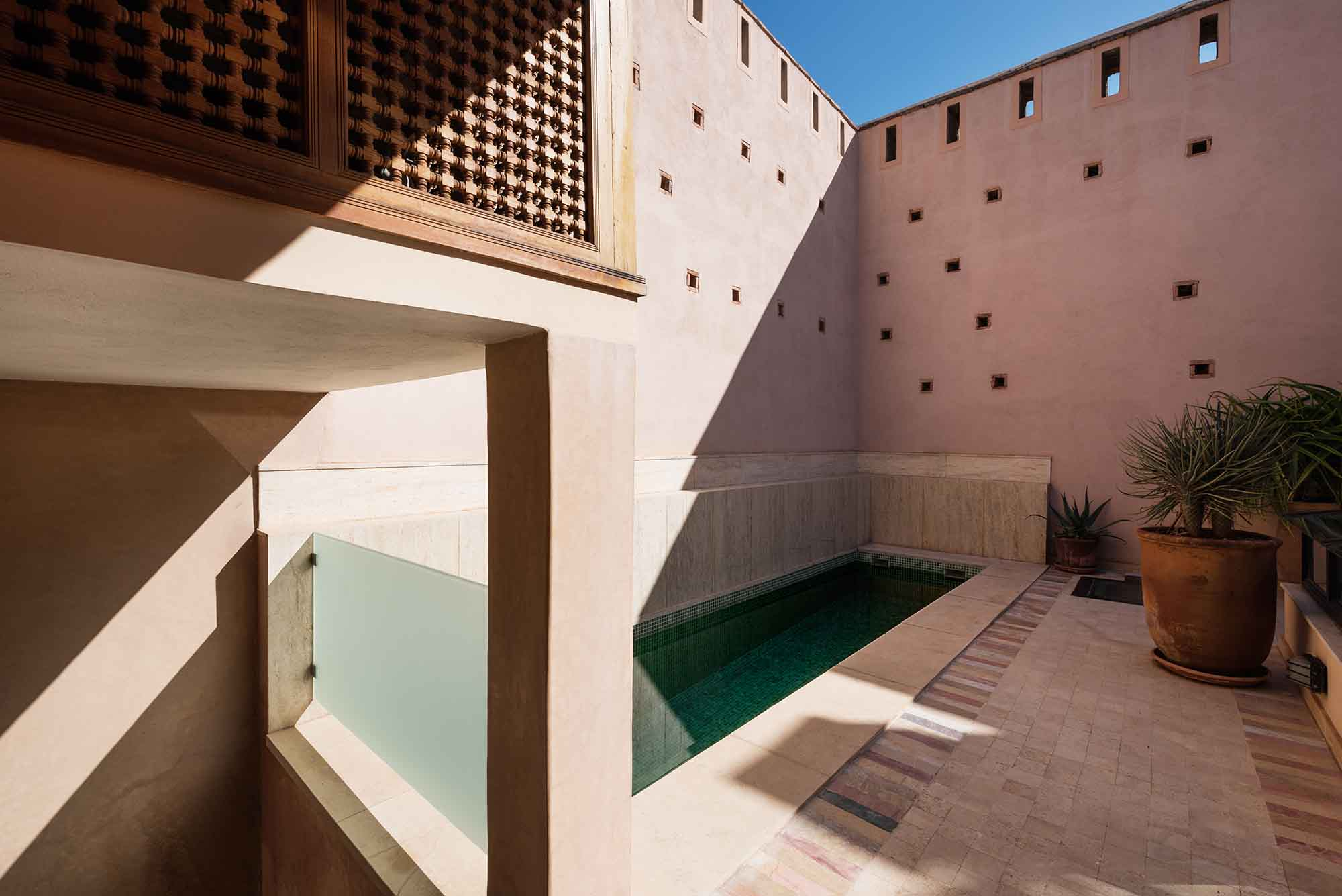 RIAD SIWAN GUEST HOUSE MARRAKECH SWIMMING POOL