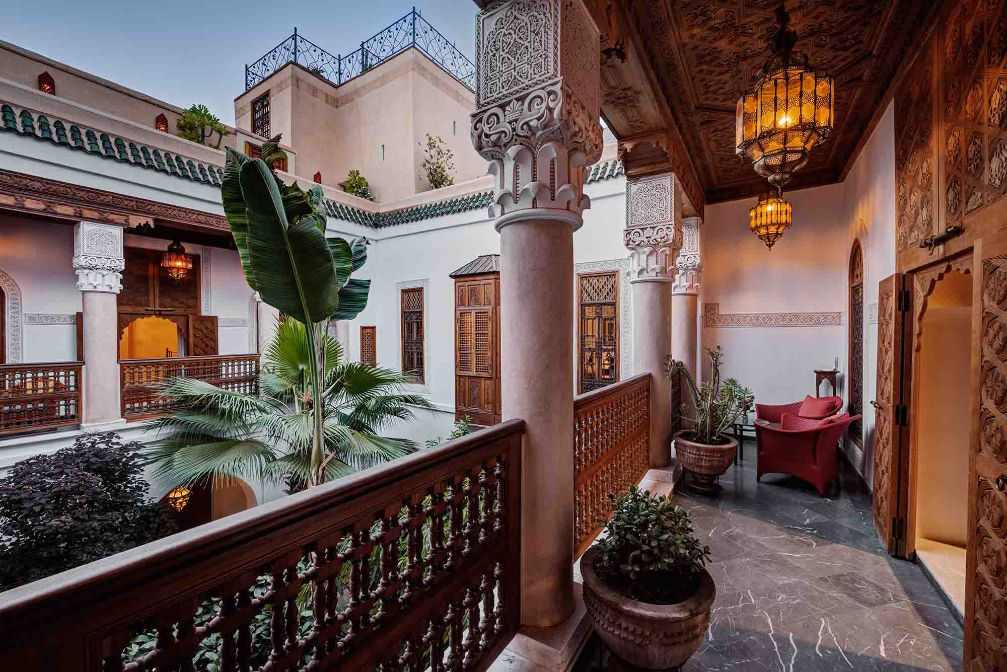 RIAD SIWAN GUEST HOUSE MARRAKECH TERRACE