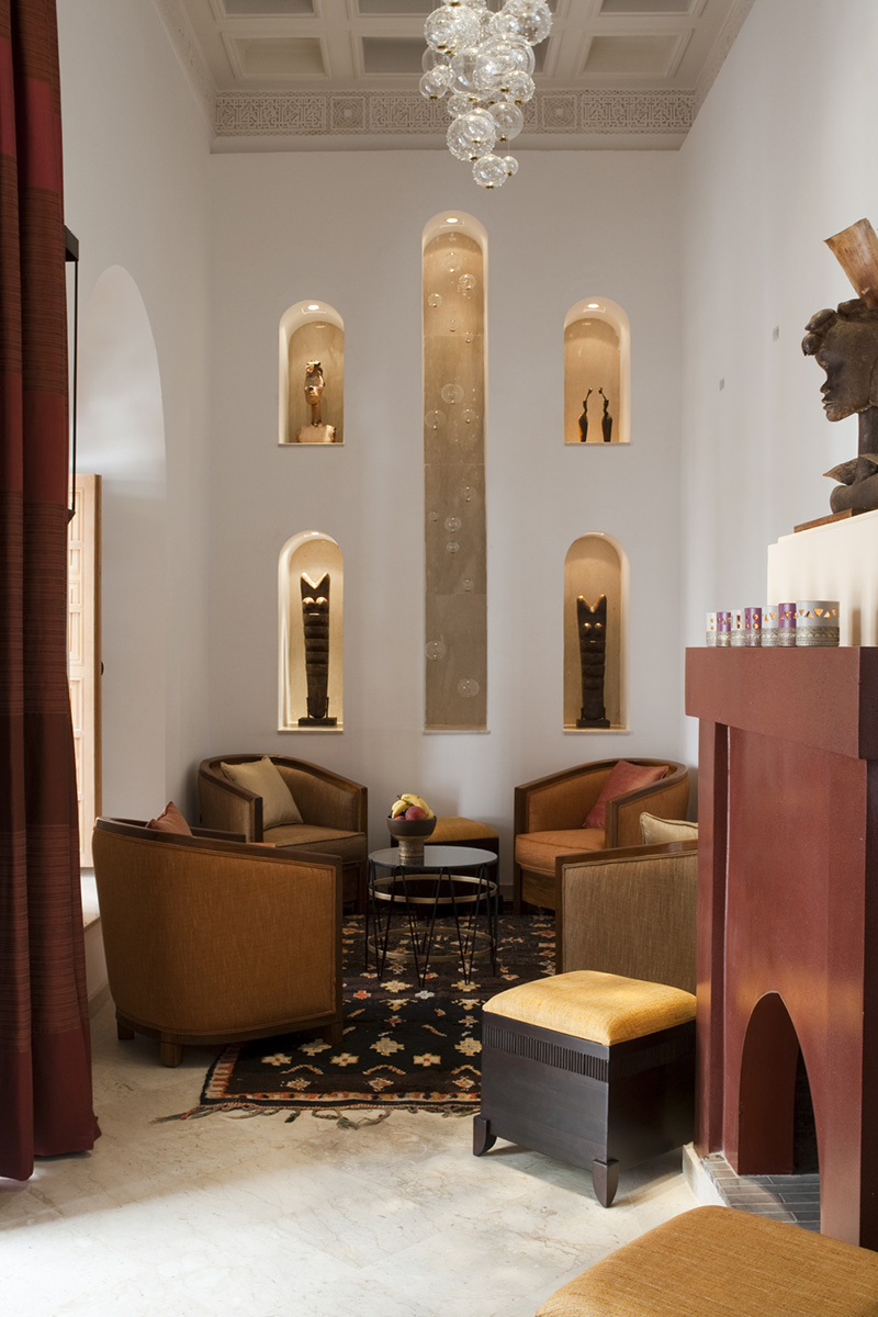 RIAD SIWAN GUEST HOUSE MARRAKECH LIVING ROOM