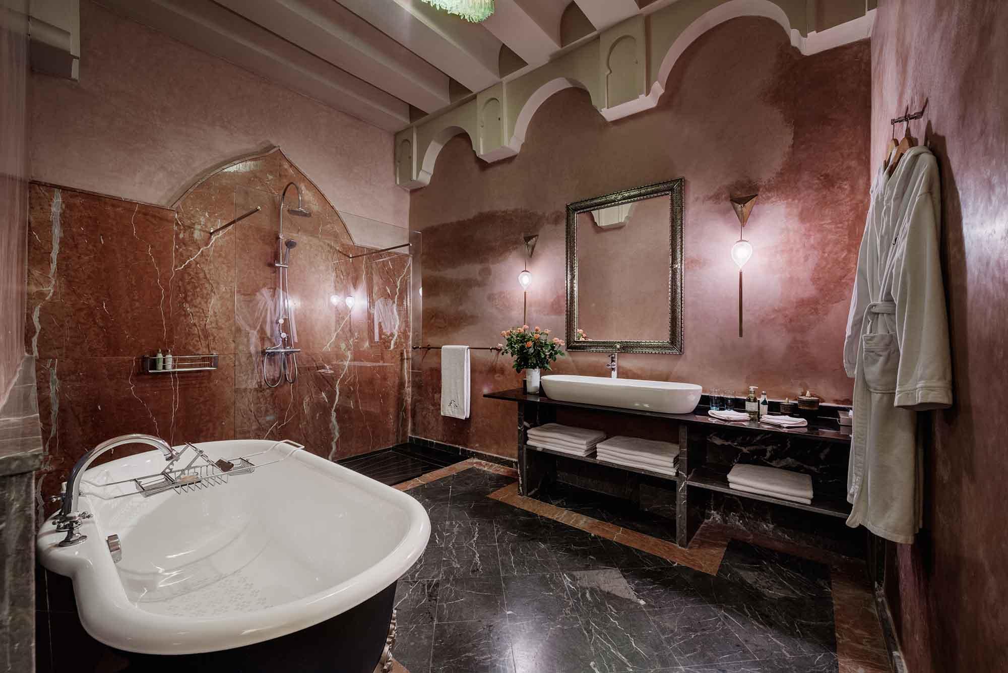 RIAD SIWAN GUEST HOUSE MARRAKECH BATHROOM